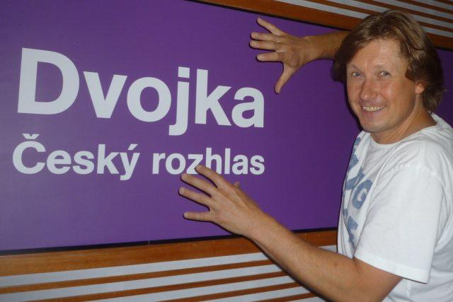 Učarovalo Pavlovi Kožíškovi studio Dvojky,  anebo ho naopak on očaroval?   foto: Archiv Hanky Švejnohové
