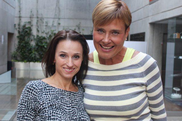 Renata Gregorová a Marie Retková