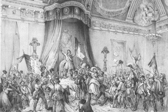 Lid v paláci v Tuilleriích | foto:  Wikipedia Commons