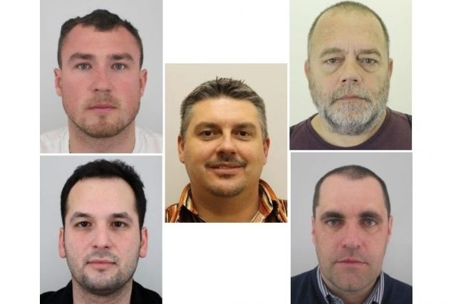 Pět Čechů,  kteří loni zmizeli v Libanonu,  je na svobodě a v pořádku   foto: Policie ČR,   koláž Český rozhlas