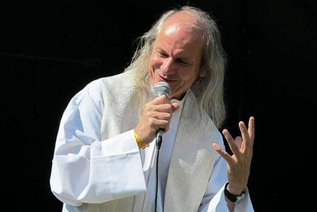 Ladislav Heryán při bohoslužbě na Vlčkovicefestu 2014