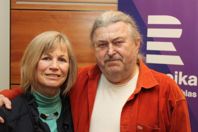 Jitka Molavcová a František Ringo Čech