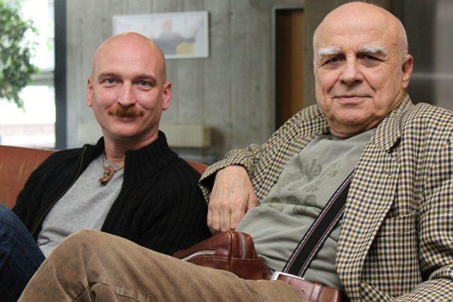 Jiří Holoubek a Ivan Mládek