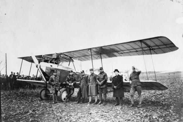 Rakousko-uherské vojenské letectvo | foto:  Imperial War Museum
