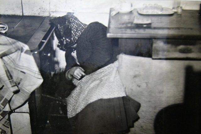 Detail těla oběti