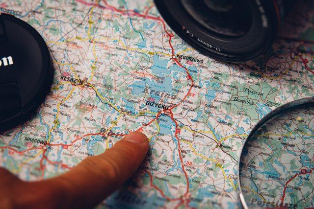 Mapa  (ilustrační foto)   foto: Fotobanka Pixabay