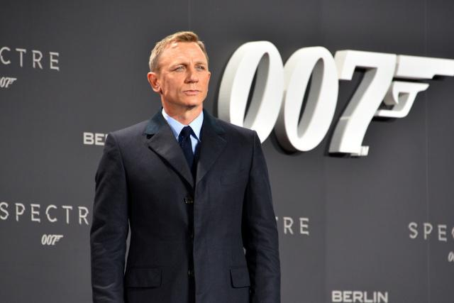Daniel Craig aka James Bond