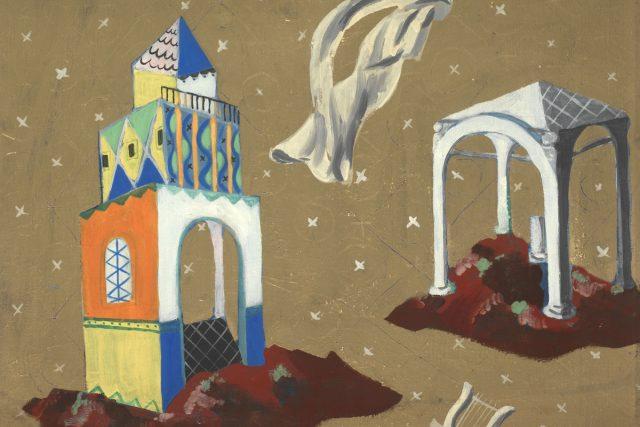 Zdenek Rykr, Elegie č. 47, 1939, olej, tempera, plátno