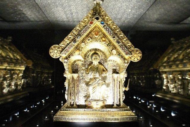 Relikviář sv. Maura: současný stav | foto: Bronislava Janečková