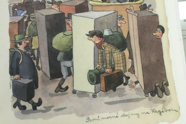 Deníky Ondřeje Sekory 1944-1945 představilo Moravské zemské muzeum a Nakladatelství Plus   foto: Marie Veselá,  Český rozhlas