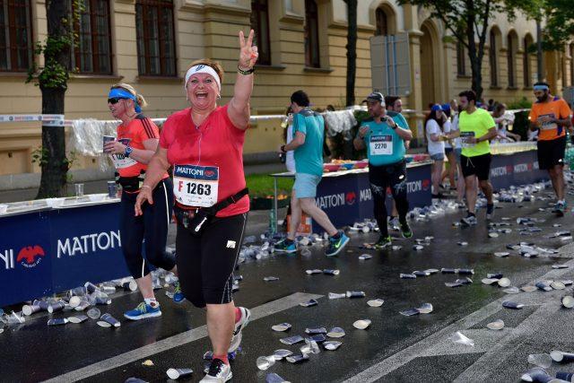 Cesta k půlmaratonu: Alena na 5. km