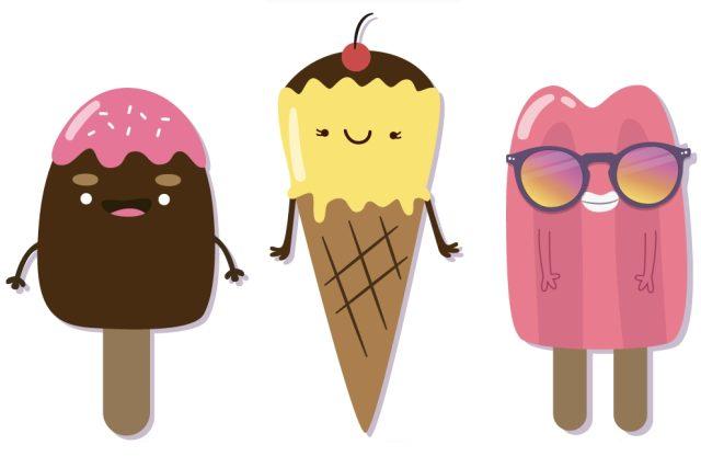 Nanuk a zmrzlina