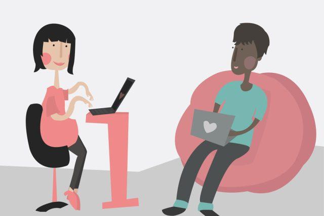 online randění - online dating - seznámení - seznamka - internetová seznamka