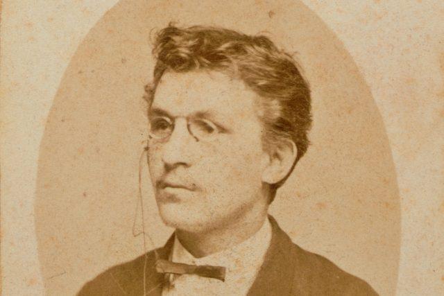 Leoš Janáček v roce 1874