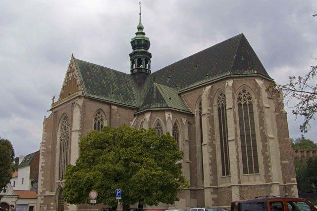 Bazilika Nanebevzetí Panny Marie na Starém Brně,  kde se obřad odehrával | foto: Daniel Baránek