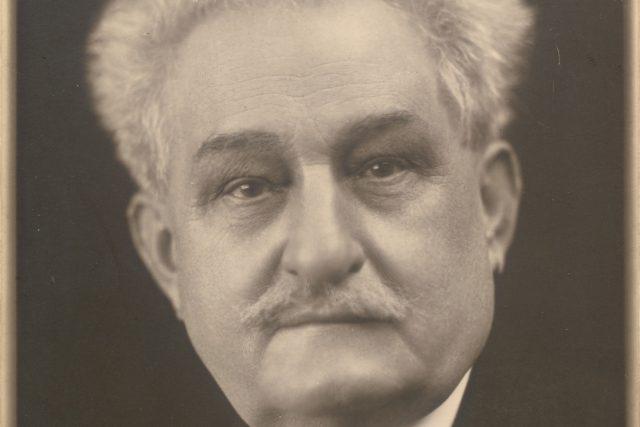 Leoš Janáček jako sedmdesátiletý v roce 1924 | foto: Oddělení dějin hudby Moravského zemského muzea