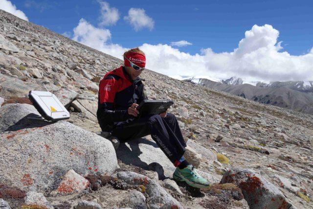 Lucie Výborná vysílá z Himálaje