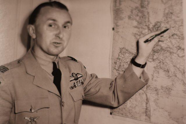 Karel Kuttelwascher,  válečný pilot | foto: Archiv Czech Spitfire Clubu