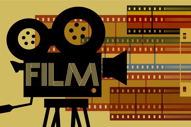 Film, filmová kamera (ilustrační obrázek)
