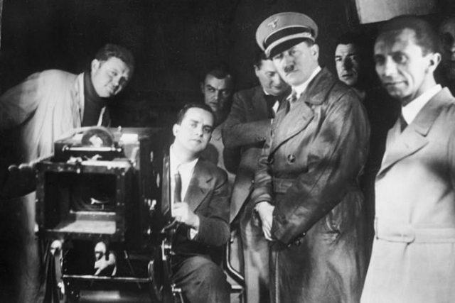 Adolf Hitler a Joseph Goebbels