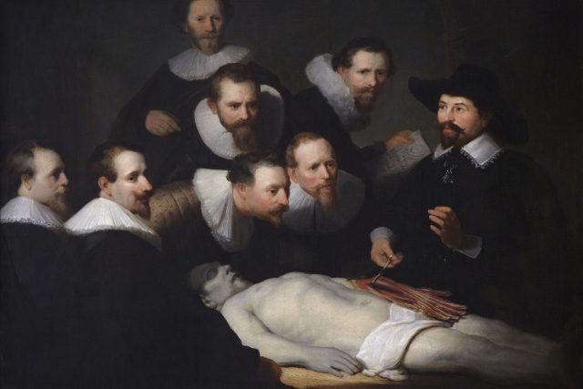 Rembrandt – Hodina anatomie doktora Tulpa | foto: Public domain