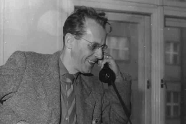 Redaktor a spisovatel Zdeněk Jirotka