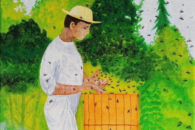 Jan Karpíšek: Včelař  (The Beekeper) | foto: Jan Karpíšek