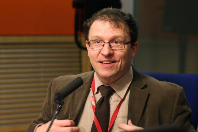 Daniel Münich   foto: Vít Svoboda,  Český rozhlas