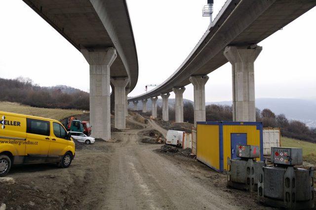 Dálnice D8 u Prackovic nad Labem | foto: Jan Bachorík,  Český rozhlas