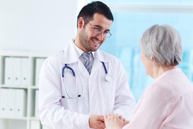 Lékař a pacientka