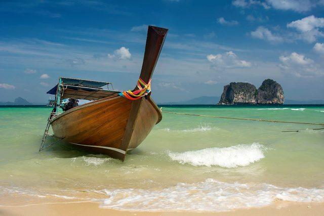 Výlet mezi ostrovy v Thajsku