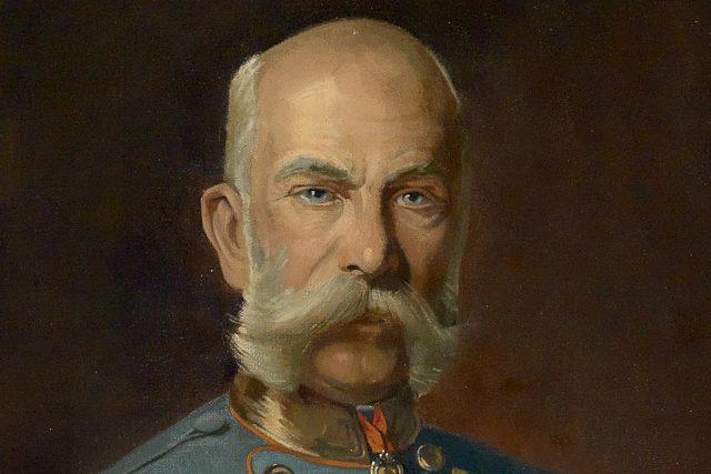 Výřez z portrétu císaře Františka Josefa I. | foto: Wikimedia Commons,   Julius von Blaas  (1845-1923),  Public domain