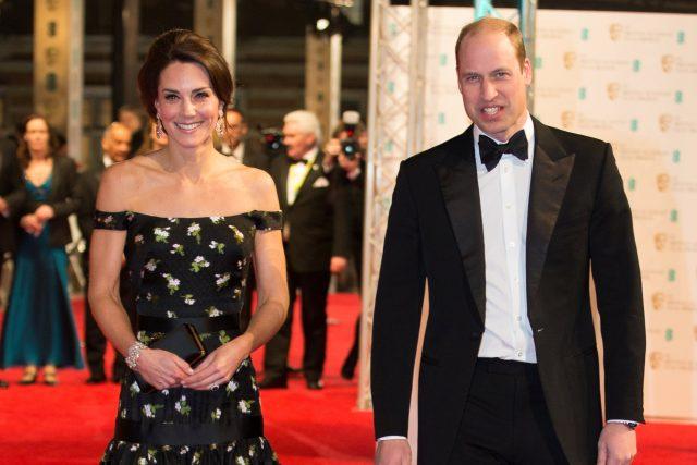 Na udílení cen BAFTA přišel i princ William a vévodkyně z Cambridge Kate | foto: Reuters
