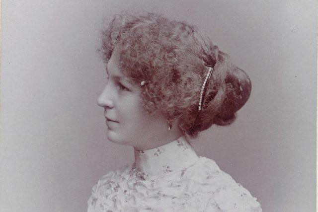 Olga Janáčková v roce 1902 | foto: Oddělení dějin hudby Moravského zemského muzea