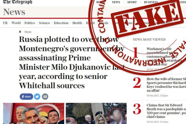 """Ruské ministerstvo zahraničí spustilo webovou stránku, kde označuje údajně falešné zprávy. Razítkuje je nápisem """"dezinformace"""""""