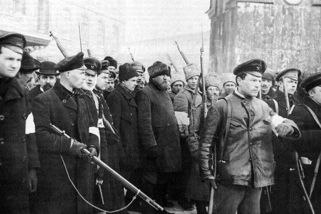 Revoluční Rusko v roce 1917