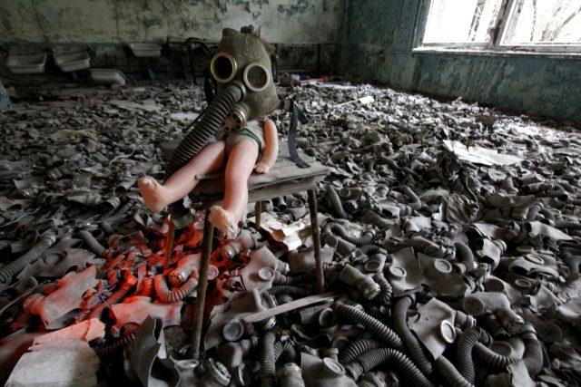 Procházka Černobylem
