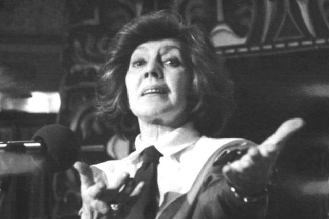 Ljuba Hermanová (na snímku v roce 1986)