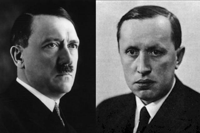 Adolf Hitler a Karel Čapek