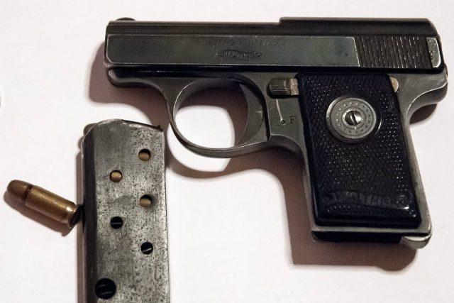 Pistole Walther ráže 6,35 mm