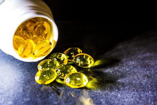 omega-3 mastné kyseliny v potravinovém doplňku stravy