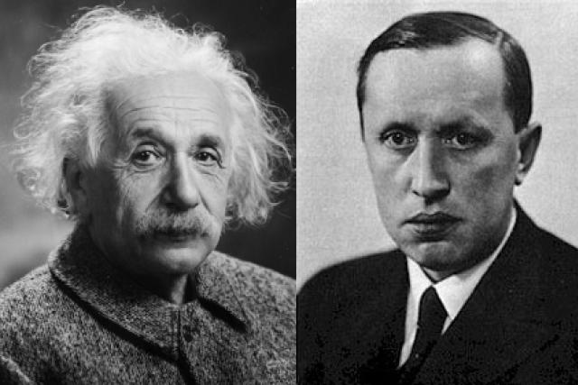 Albert Einstein a Karel Čapek