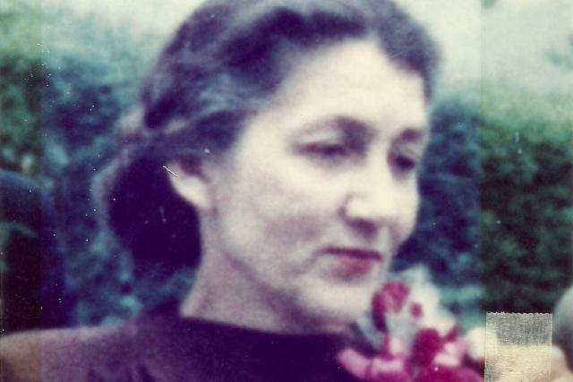 Marie Kolowratová-Krakowská  (rozená Klimtová) na rodinné fotografii   foto: Zdeněk Hazdra,   archiv Ernesta Kolowrata