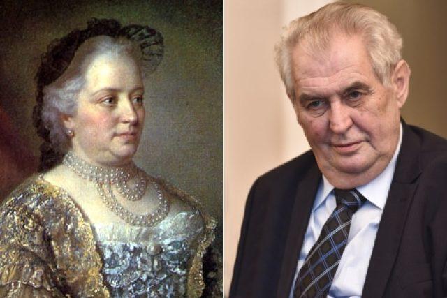 Marie Terezie se narodila 13. května 1717 ve Vídni. Jaký je její odkaz dnešním politikům? | foto: Filip Jandourek,  Jean-Étienne Liotard