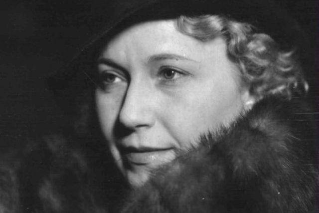 Olga Scheinpflugová (1938)