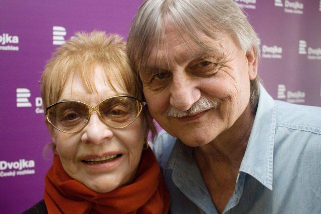 Drahomíra Vihanová a Pavel Soukup