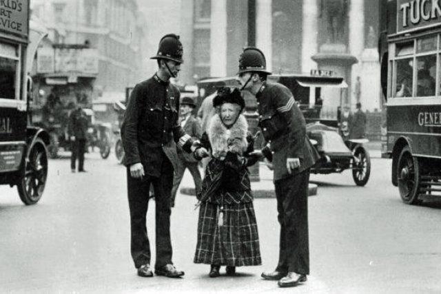 Britská policie v Londýně (20. léta)