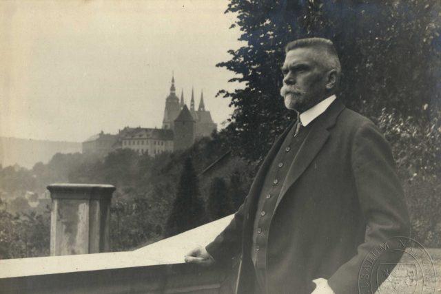 Karel Kramář v roce 1918   foto:  Národní muzeum,   CC BY 4.0