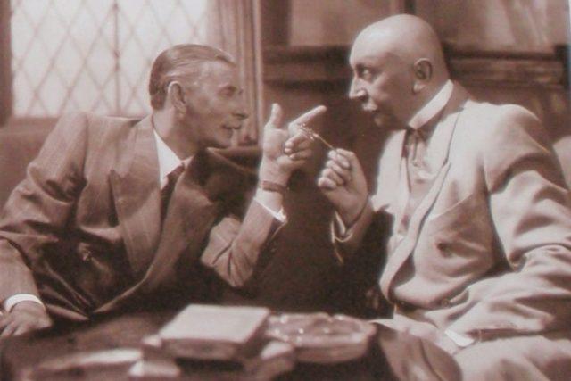 Baron Prášil: (1940) Vlasta Burian a Čeněk Šlégl