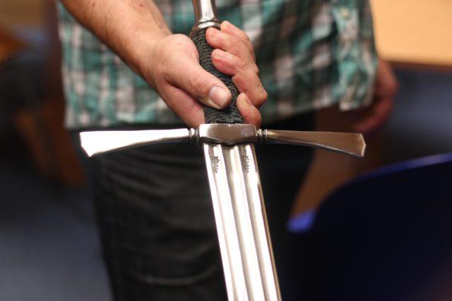 Kovaný meč | foto: Milan Kopecký,  Český rozhlas